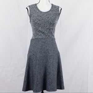 Brooks Brothers 346 Tweed A Line Dress